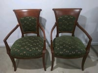 2 Antique Scroll Back Accent/Parlor Chairs Westland, 48185