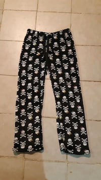 Cozy Skeleton Pants