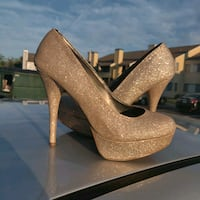 Glitter high heels - size 9 Norman, 73072