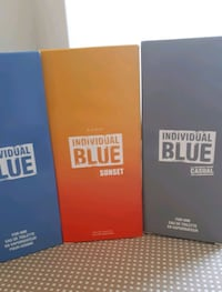 Individual Blue Erkek parfum 3 lu set 100 ml x 3