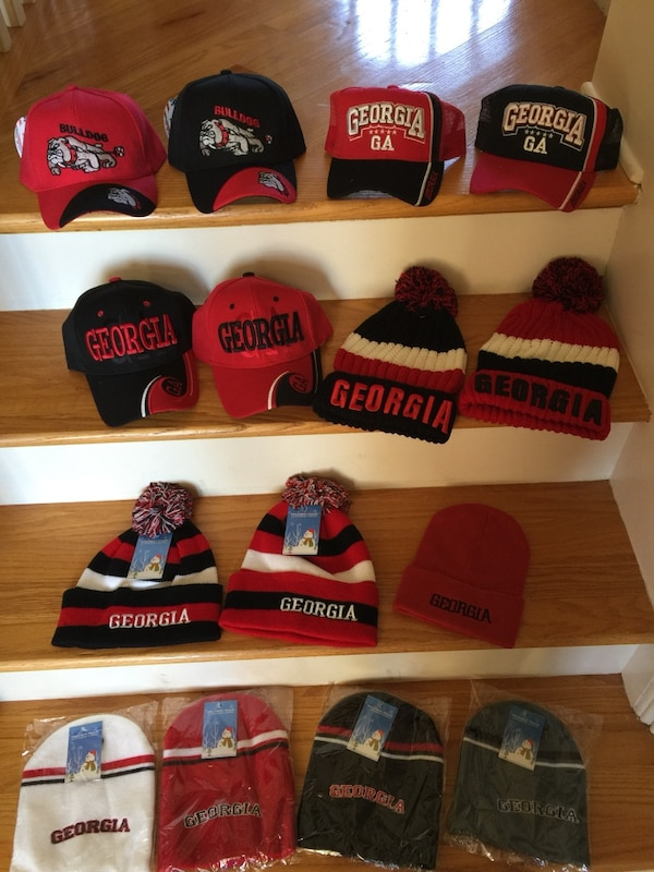 3f6e1900284 Used Georgia hats and toboggans for sale in Young Harris - letgo