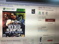 Red Dead Redemption Xbox 360 Syracuse, 84075