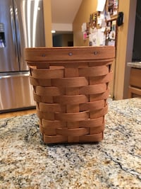 Longaberger small spoon basket w/lid and charm Plantsville, 06479