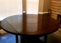 Dinning table with built in lazy susan Savannah