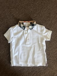 Burberry toddler collared shirt 12months.