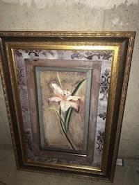 Flower Pictures with matching gold frames Hamilton, L8W 3X7