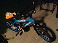 children's blue, orange and black Supercycle bicycle Edmonton, T6V