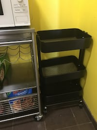 Ikea black utility cart ( brand new condition ) Toronto, M2L 2G1