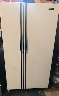 Double Door Fridge - White
