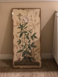 Painting on  Wicker Canvas.  Brand new.  Never used.  Glendora, 91741
