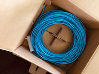 Cat 5 cable approximately 1/2 of a 1000 ft roll Bedford, B4A