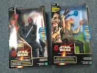 two Star Wars action figures packs