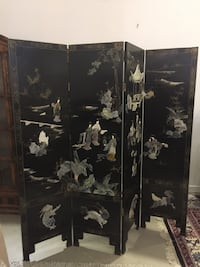 4 Panel Asian Screen / Room Divider Vancouver