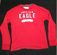 red American Eagle long sleeve Kulpmont, 17834