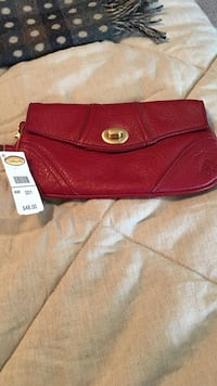 red pebble leather wrislet Eatontown, 07724