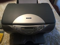 Black and gray epson all in one printer Decatur, 62521
