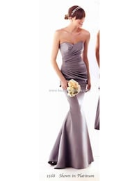 NEW: Sweetheart bridal party dress in black TORONTO
