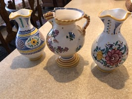 Decorative Modra pottery from Slovakia