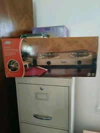 Double electric cooking range Carteret, 07008