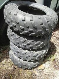 4wheeler tires (4) 24x8-12  Tifton, 31793