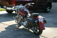 red and black cruiser motorcycle Marrero, 70072