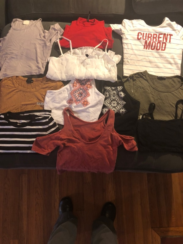 Assorted-color clothes lot