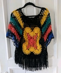 One size crochet blouse from South Africa Montréal, H4C 2T8