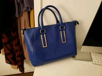 blue leather 2-way bag Toronto, M2J 1L3