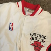 Bull Authentic Warm Up Jacket Small Chicago