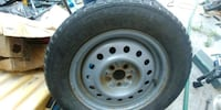 gray bullet hole car wheel with tire Penticton, V2A 4T3