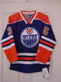 MUST SELL A BRAND NEW YOUTH SIZE SMALL ALL STITCHED OILER JERSEY BRAND NEW   TAGS ATTACHED!