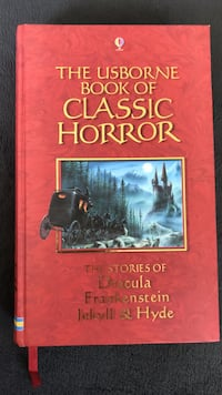The Usborne Book of Classic Horror Mississauga, L5B
