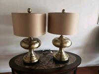 2 beautiful table lamp