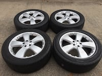 mercedes benz rims set 19 inch 5x112 wheels Manassas, 20110