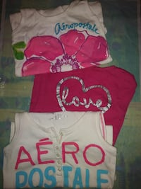 Three assorted Aeropostale tank tops