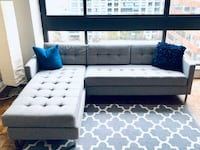 CB2 Ditto II sectional sofa Toronto, M5R 3S6