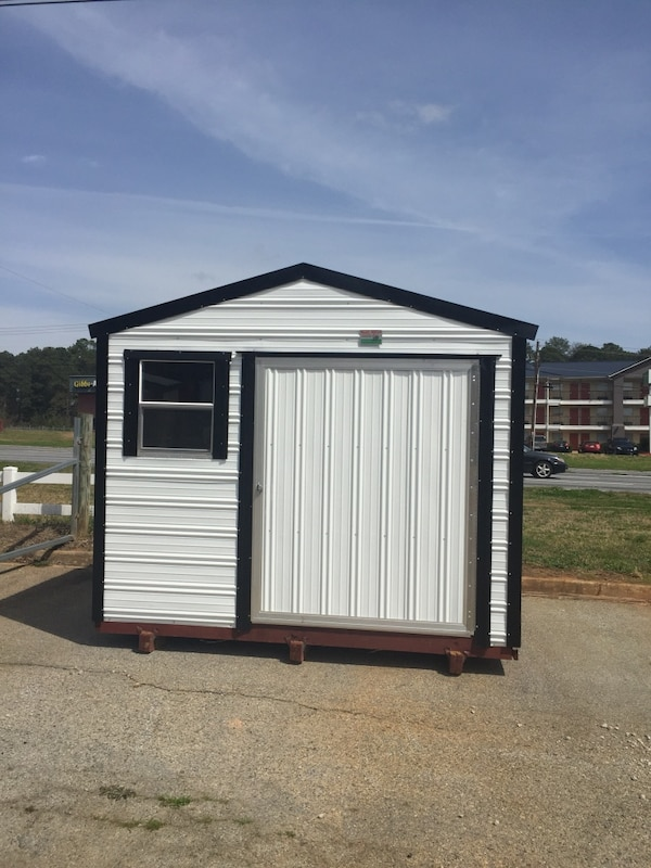 Storage sheds 10 by 10 5% off all cash sales
