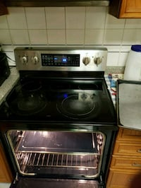 black induction range oven and microwave oven 546 km
