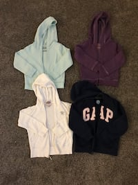 Size 4T hoodies brand include juice couture, Gap and jumping bean  Boyds, 20871