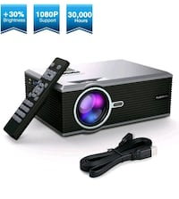 Brandnew 1080p LED widescreen projector Mississauga, L5C 3A5