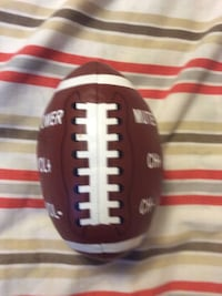 white and maroon football 719 km