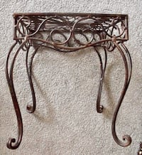 $40 Cast Iron Plant Stand