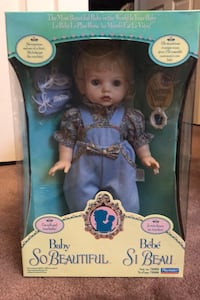 Vintage Baby So Beautiful Doll 1995