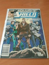 #1 Nick Fury SHIELD comic book MARVEL  Toronto, M3C 4J1