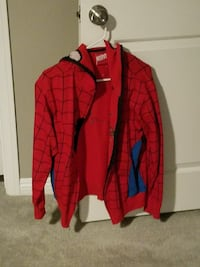 red and blue Spider-Man themed hoodie jacket Las Vegas, 89148