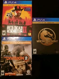 ps4 games  Mesquite, 75150