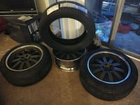 Brand new never been used tires and rims Bladensburg, 20710