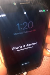 Iphone 7 spotless but disabled needs to be updated