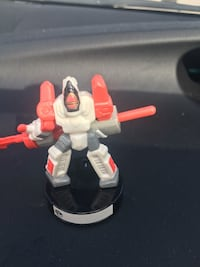 white gray and red plastic robot toy figurine Pembroke Pines, 33026