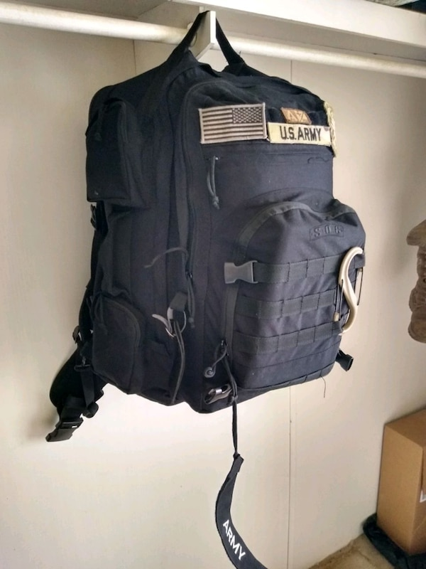 Limited Edition Army SOC Backpack 1